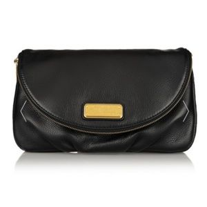 MARC JACOBS leather clutch with dust bag